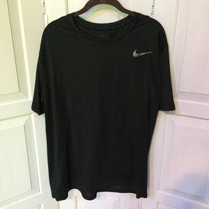 Men's Nike Dri-Fit Black Shirt XL